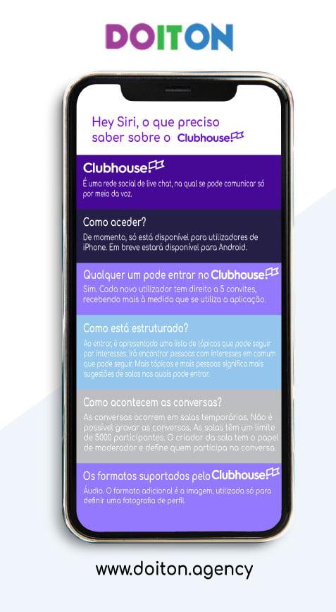 Hey Siri, o que preciso saber sobre o ClubHouse?